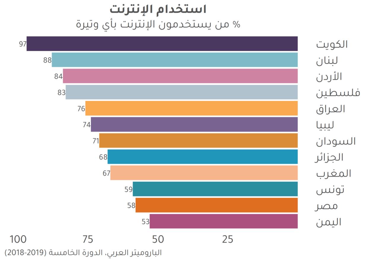 الانقسام الرقمي في العالم العربي