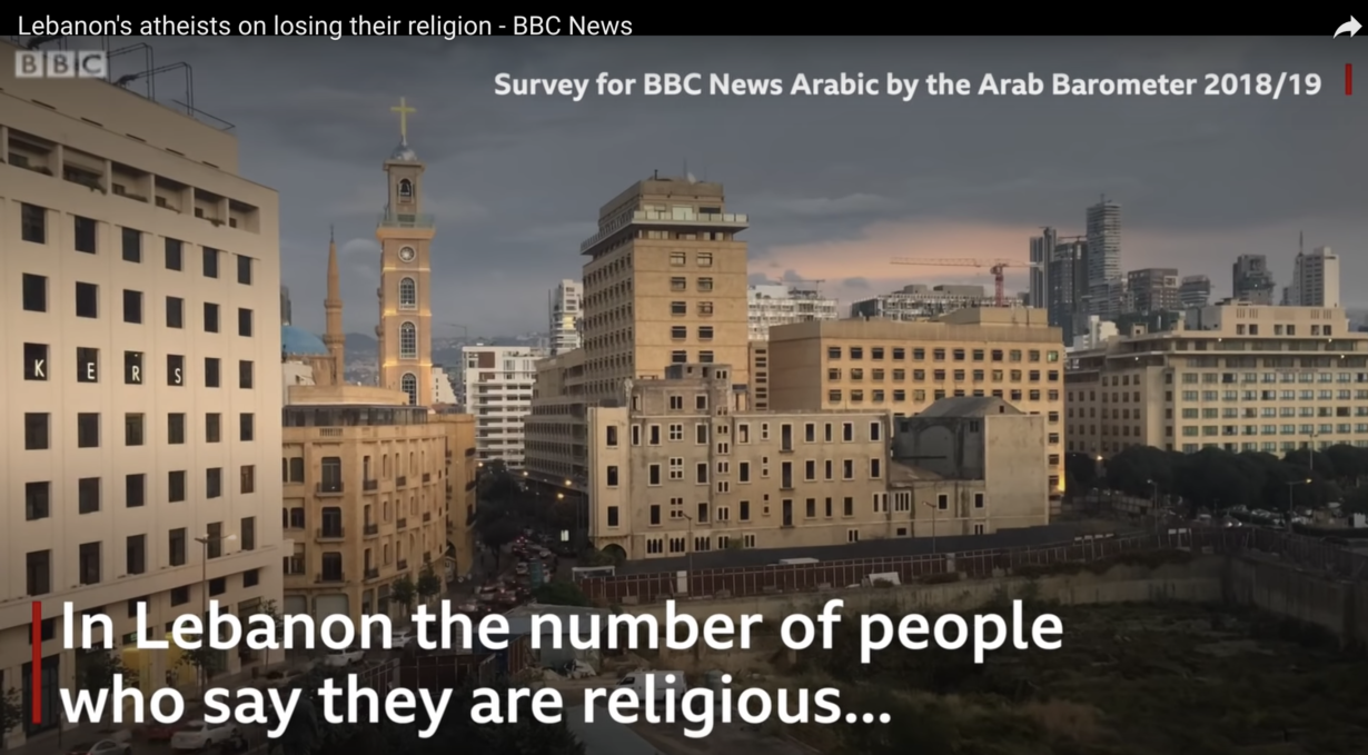 Lebanon S Atheists On Losing Their Religion Arab Barometer