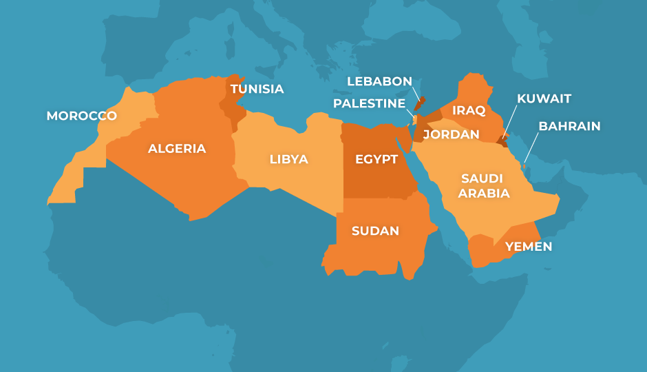 Arab Barometer Map